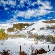 Première neige – l'hiver arrive !